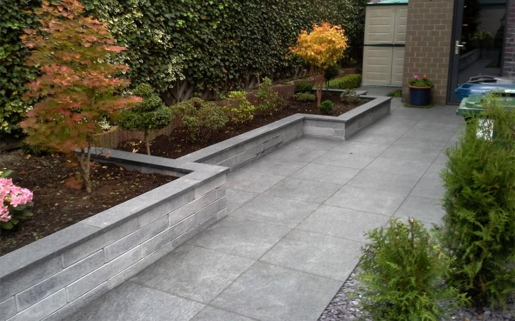 Complete tuinen treur kieftenbelt for Tuin uittekenen
